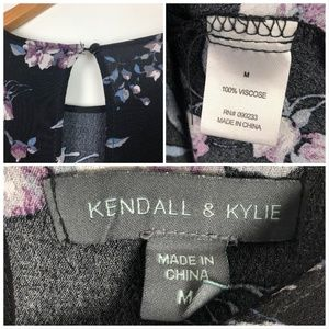 Kendall & Kylie Dresses - Kendall & Kylie Floral Baby Doll Dress Long Sleeve